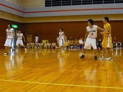 <strong>富山大学 93</strong> - 85 高岡商業