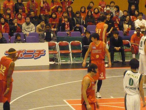 富山グラウジーズ × 埼玉ブロンコス戦